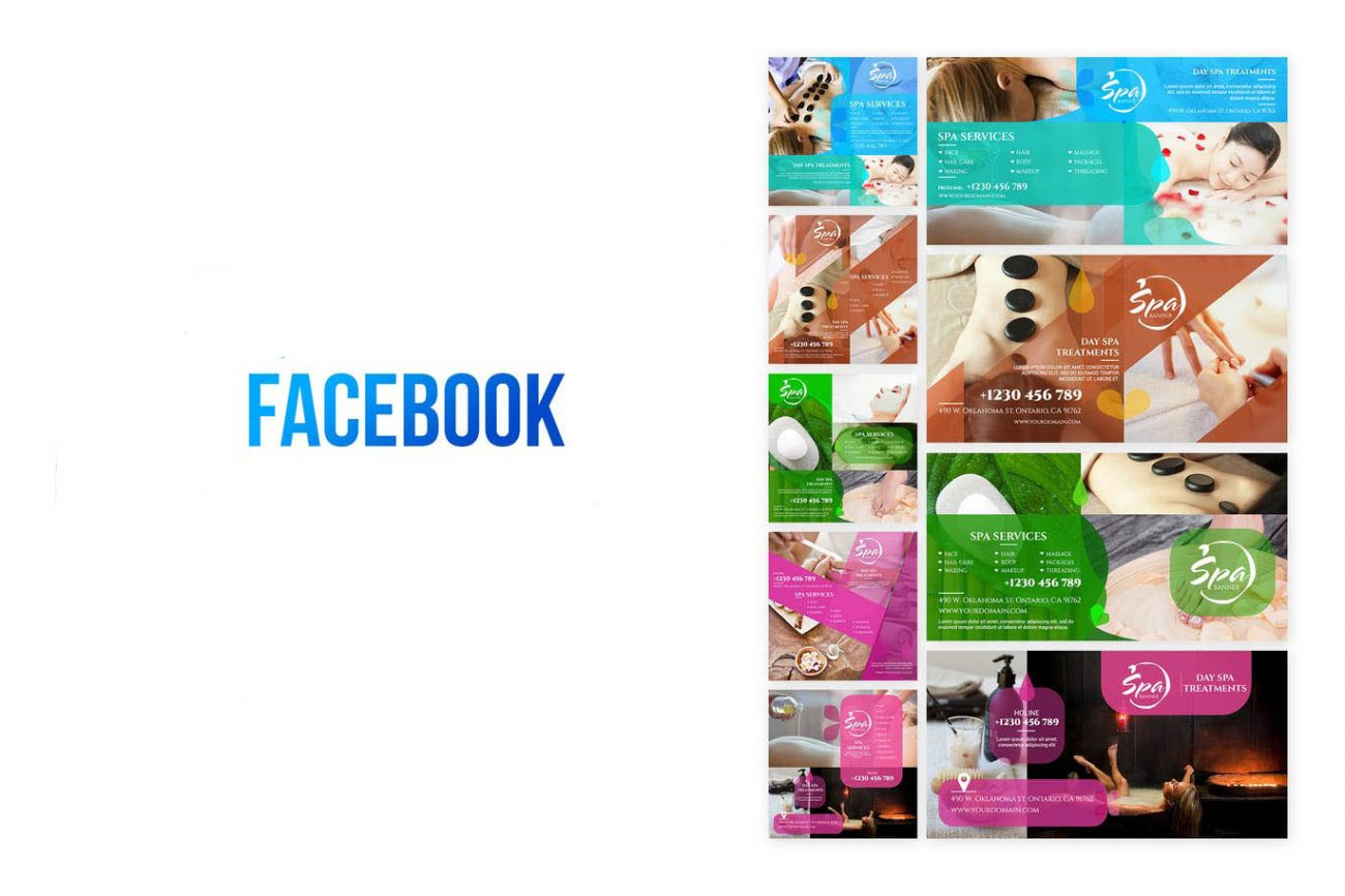 Unique Facebook Ads, Web Banners, Google ads, covers