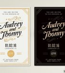 Outstanding and elegant invitation cards